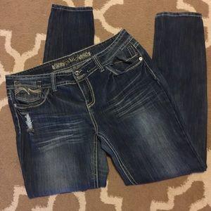 Ymi size 17 jeans